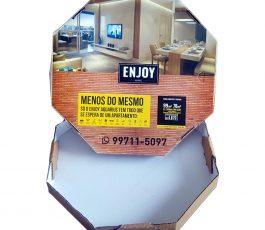Publicidade Caixa Pizza 40cm – 500 Un.